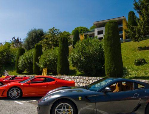 Pilotage d'une Ferrari